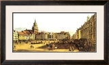 Dresden Altmarkt Poster by Bernardo Belotto