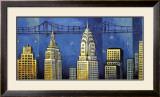 Manhattan II Posters by David Stewart