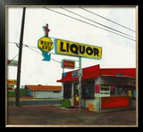 Route 66: West End Liquor Prints by Ayline Olukman
