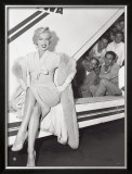 Marilyn Monroe in Airport Print by Sam Schulman