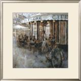 Cafe de Flore, Paris Posters by Noemi Martin