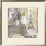 Eiffel Tower III Prints by  Pela & Silverman
