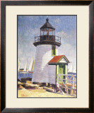 Nantucket Lighthouse Print by Sam Barber