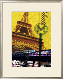 Tour Eiffel, Paris Print by Maryse Guittet