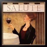 Salute II Art by Valerie Sjodin