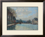Canal Saint-Martin Prints by Alfred Sisley