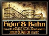 Figur 8 Bahn Framed Giclee Print