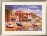 Beachside Cafe's Art by Malcolm Surridge