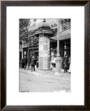 De Passy a Raspail en Metro, 1914 Art by Mireille Havet