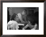 Three World Champions Framed Giclee Print by Charlie Morey