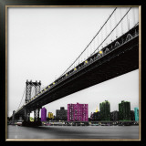 Manhattan Bridge Posters by Anne Valverde