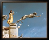Gargoyles Poster by Michael Parkes