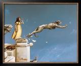 Gargoyles Poster by Michael Parkes