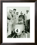 Moto Guzzi GP Motorcycle Framed Giclee Print by Giovanni Perrone