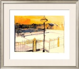 Place de la Concorde Print by Karlheinz Gross