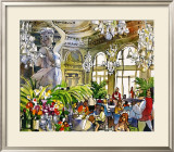 Museum LuncheonIII Prints by Michael Leu