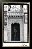 Temple Door Limited Edition Framed Print by Laura Denardo