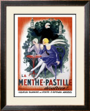 La Menthe-Pastille Framed Giclee Print by Leonetto Cappiello