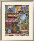 Villa San Michele Prints by Ginger Cook