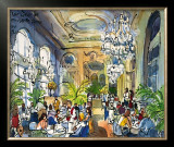 Luncheon at Musee d'Orsay Prints by Michael Leu