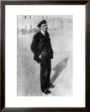 Vladimir Lenin in Moscow Framed Giclee Print
