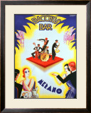 Bacchus Bar Framed Giclee Print