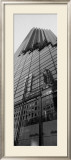 Skyscraper Reflections Poster by Jim Alinder