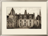 Sepia Chateaux I Prints by Victor Petit