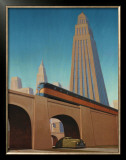 Overpass Print by Robert LaDuke
