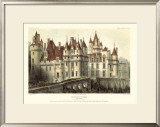 French Chateaux VII Prints by Victor Petit