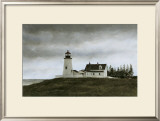 Evening at Pemaquid Prints by Douglas Brega