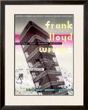 Frank Lloyd Wright, Dutch Exhibit Framed Giclee Print