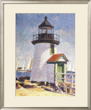Nantucket Lighthouse Prints by Sam Barber