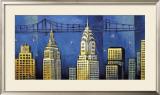 Manhattan II Prints by David Stewart