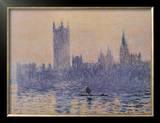 Houses of Parliament Prints by Claude Monet