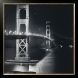 Golden Gate Nightscape Posters by Bill Voight