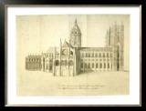 North Elevation 1 Print by Nicholas Hawksmoor