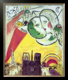 Le Dimanche, 1954 Prints by Marc Chagall