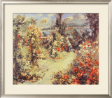 The Greenhouse Prints by Pierre-Auguste Renoir