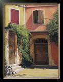 Courtyard in Abruzzia Limited Edition Framed Print by Robert White