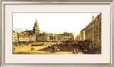 Dresden Altmarkt Art by Bernardo Belotto