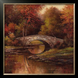 Stone Bridge Art by T. C. Chiu