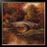 Stone Bridge Art by T. C. Chiu