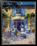 La Terrasse de Cafe Posters by Laurent Parcelier