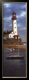 Lighthouse Shoals I Art by T. C. Chiu