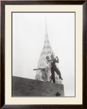 Dancing by Chrysler Building Print