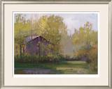 Calm Cottage Limited Edition Framed Print by Parker Steve