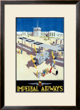 Imperial Airways Framed Giclee Print