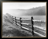 Vanishing Fence Prints by Monte Nagler