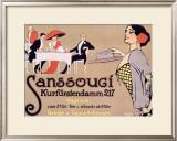 Sanssouci Framed Giclee Print by Fritz Rumpf